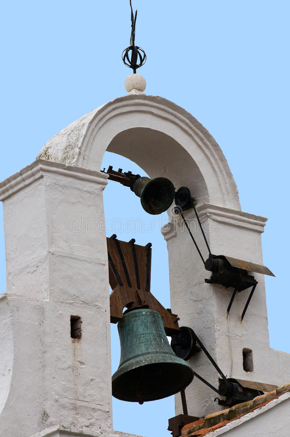 米哈斯钟楼 图库摄影