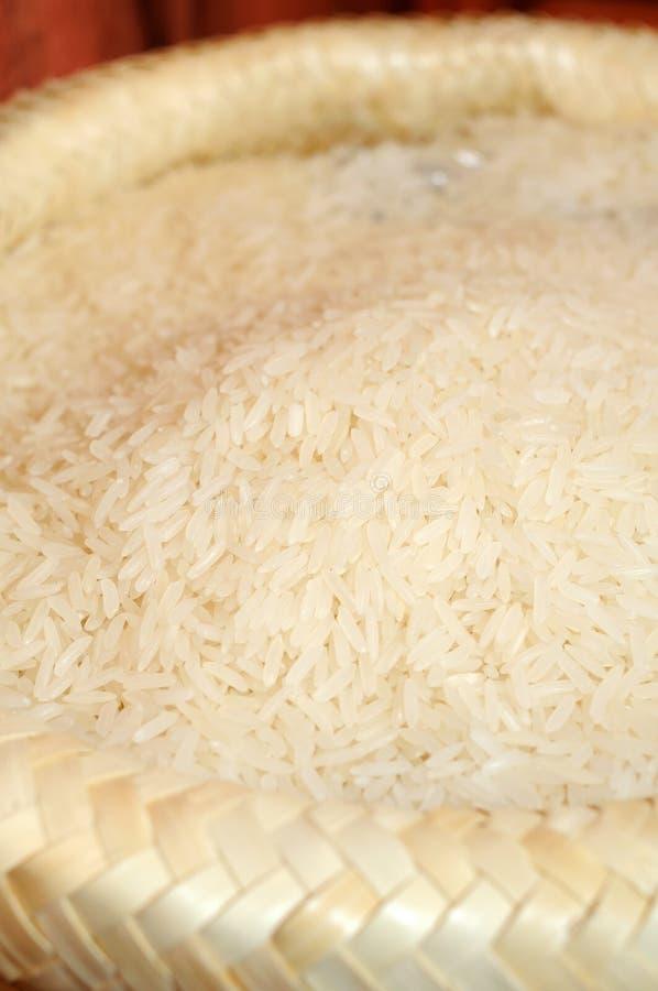 米大袋白色 图库摄影