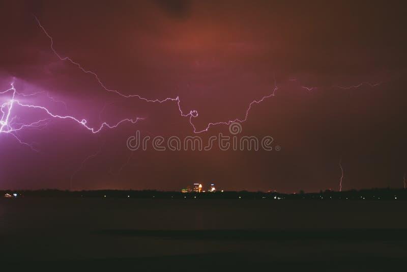 米尼亚波尼斯风暴 免版税库存图片