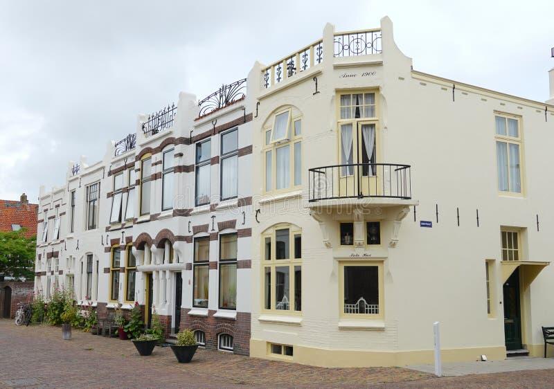 米德尔堡在荷兰 库存照片