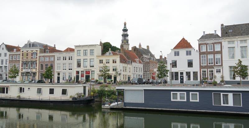 米德尔堡,荷兰 免版税图库摄影