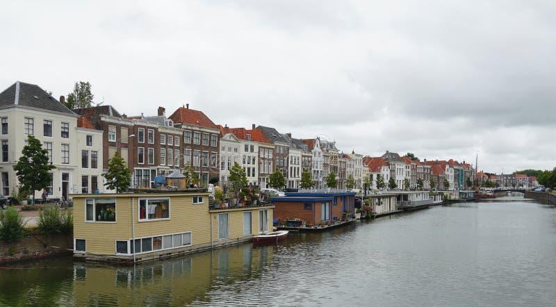 米德尔堡,荷兰 库存照片