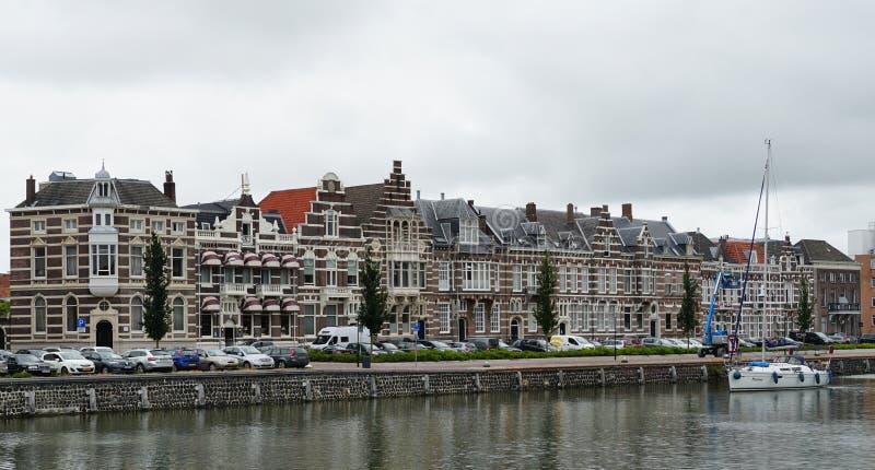 米德尔堡,荷兰 免版税库存图片