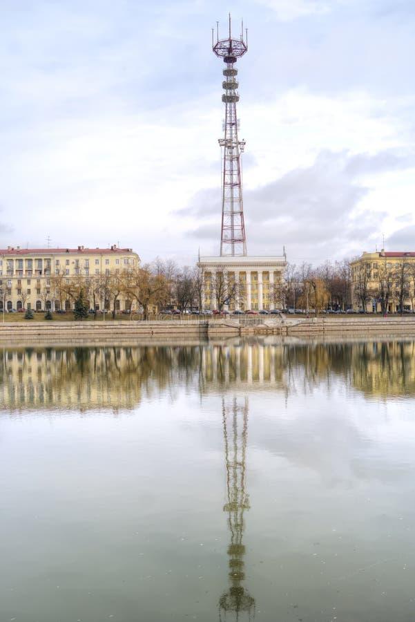 米斯克 Televisional塔 库存图片