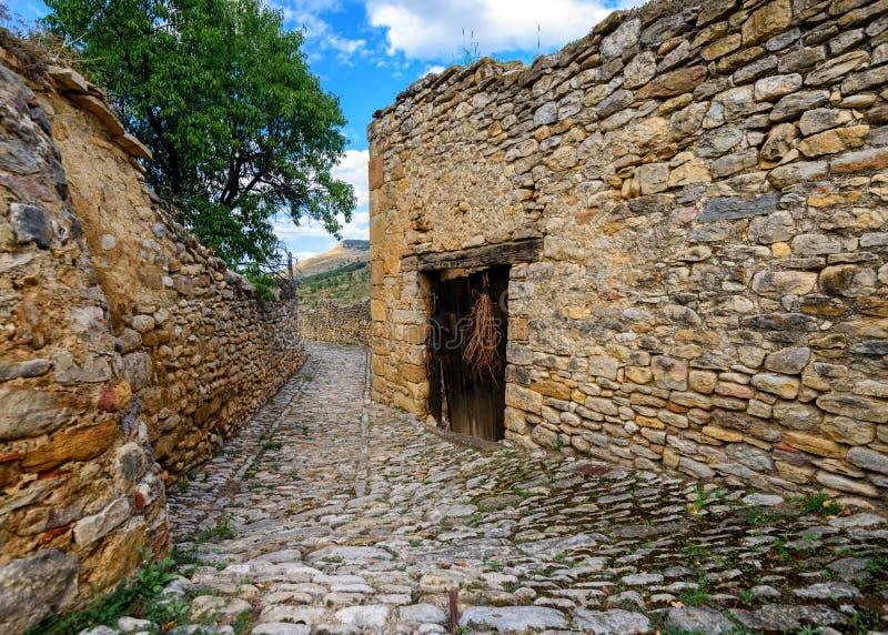 米朗贝尔,特鲁埃尔省,阿拉贡,西班牙省  库存照片