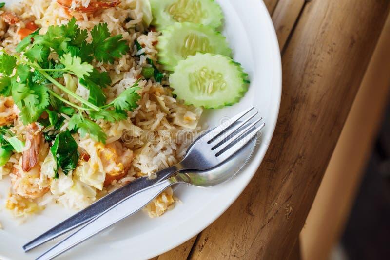 米用海鲜 免版税库存图片