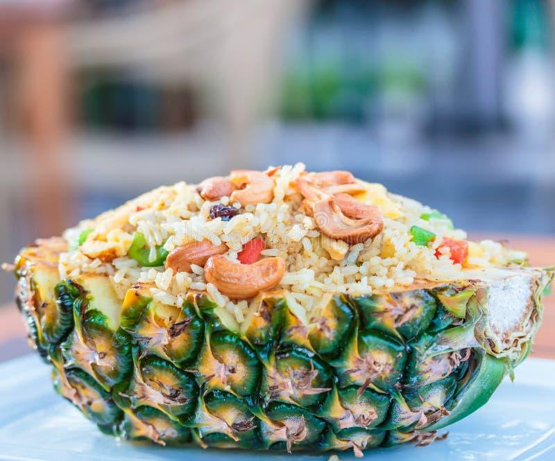 米用菠萝 免版税库存图片