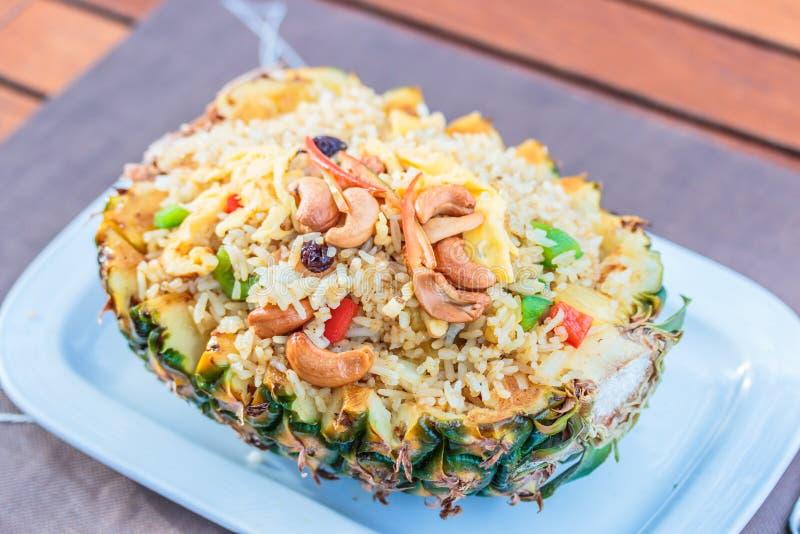 米用菠萝 免版税图库摄影
