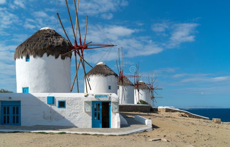 米科诺斯岛 免版税库存照片
