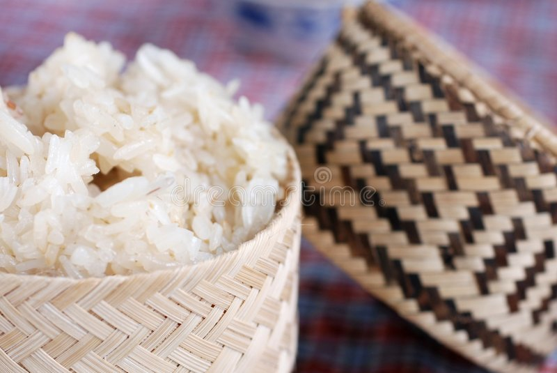 米粘性传统 免版税图库摄影