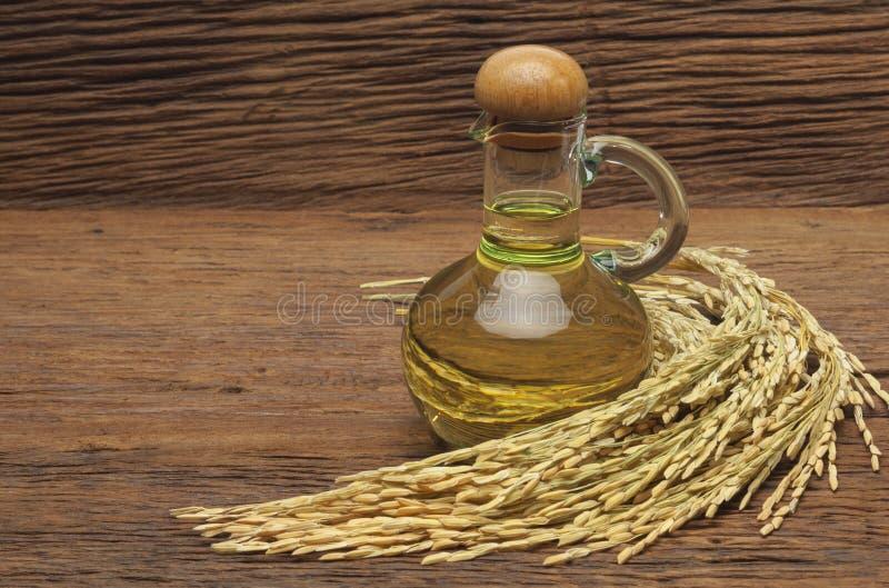 米糠油 库存图片