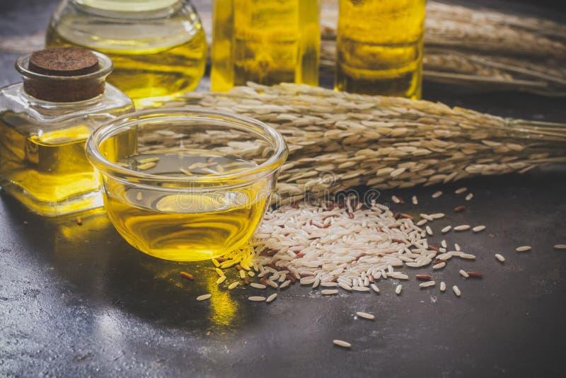 米糠油 免版税库存照片