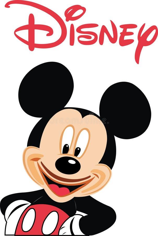 米老鼠迪斯尼传染媒介 向量例证