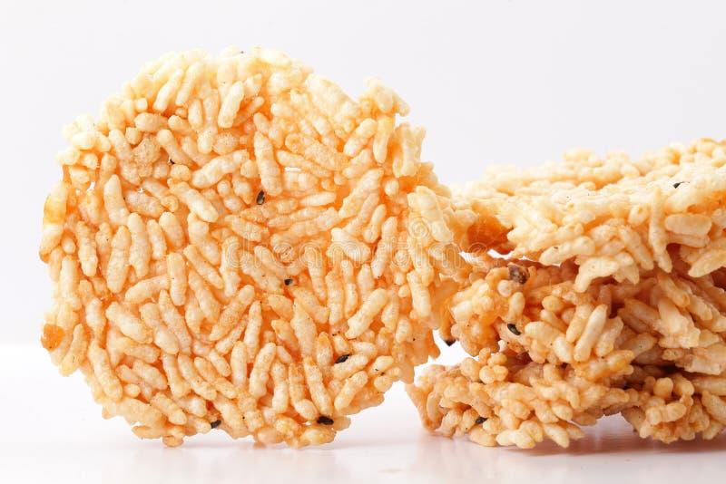 米薄脆饼干 库存图片