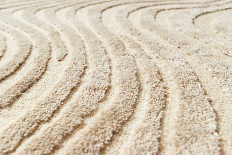 米黄地毯 免版税库存图片