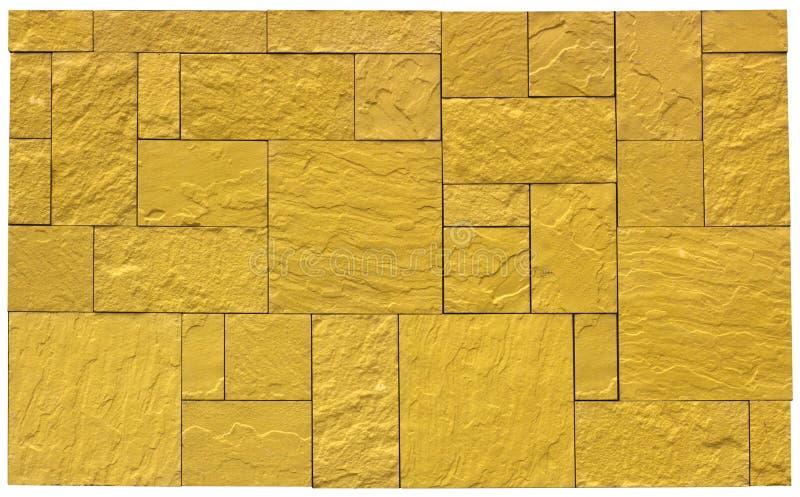 米黄大理石瓦片无缝的纹理墙面砖自然石头 免版税库存照片