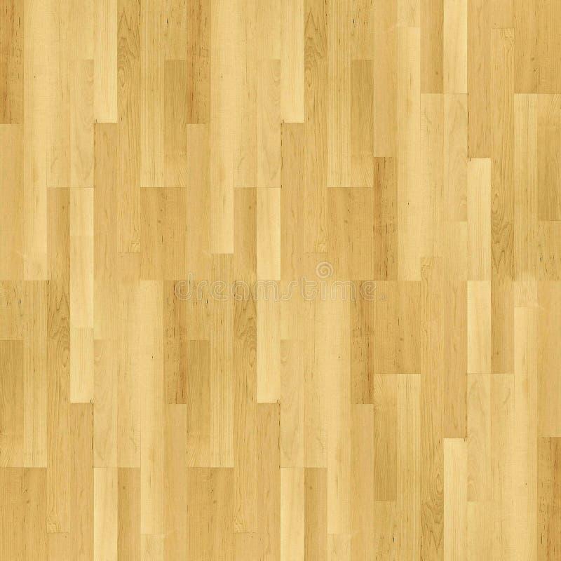 米黄木条地板 免版税库存照片