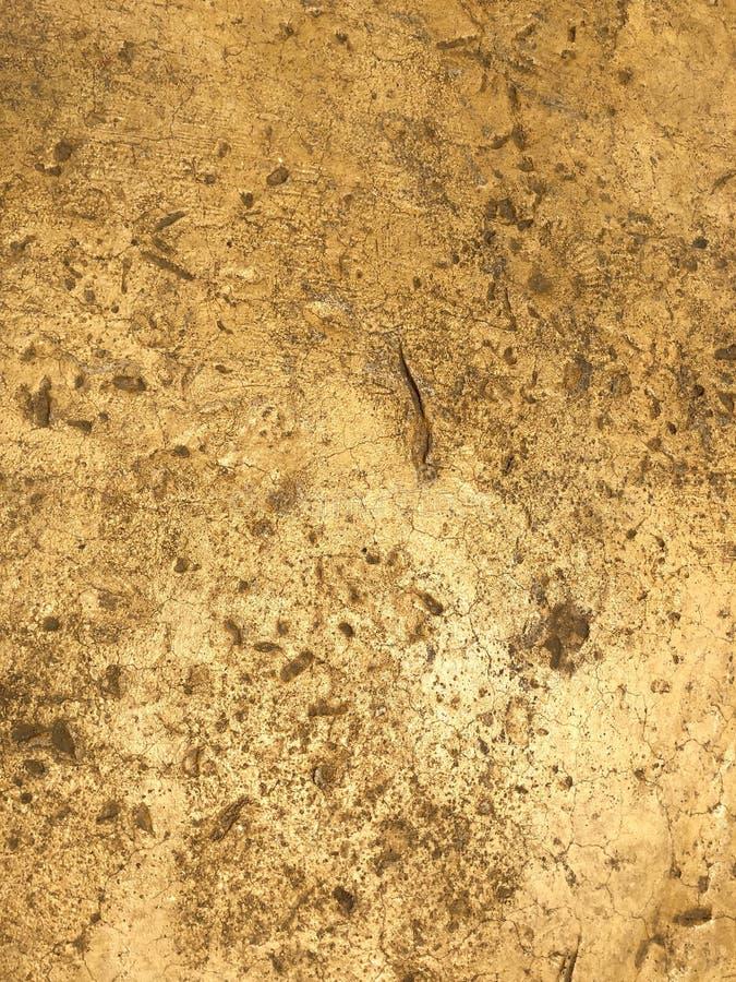 米黄石纹理背景 图库摄影