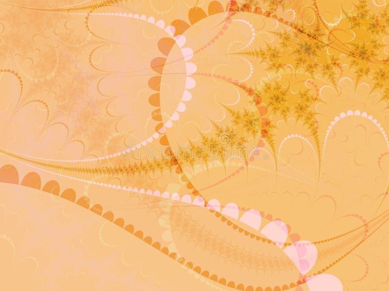 米黄粉红彩笔形状 库存照片