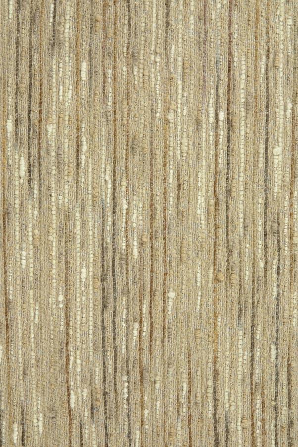 米黄织品概略的纹理 库存照片