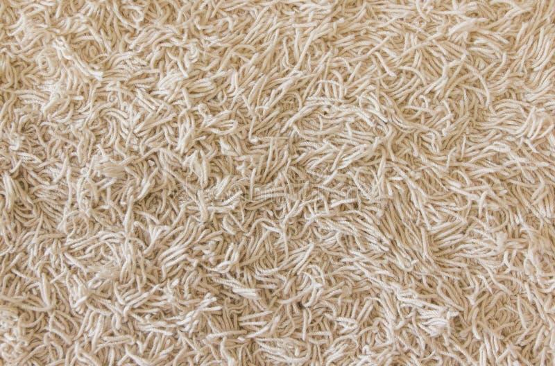 米黄地毯纹理 免版税图库摄影