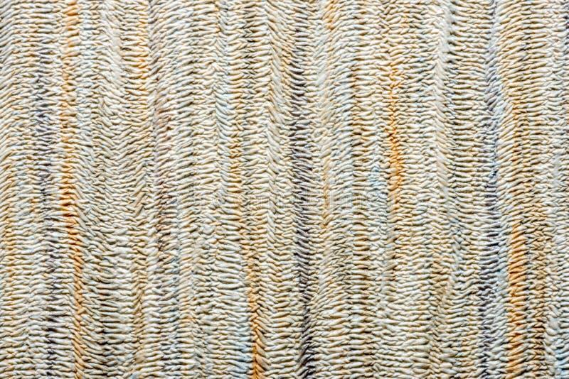 米黄墙纸纹理 免版税图库摄影