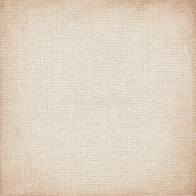 米黄帆布以使用的精美栅格当难看的东西背景或纹理 库存例证