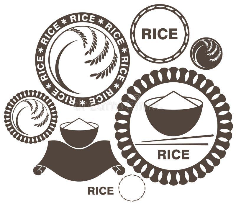 米 向量例证
