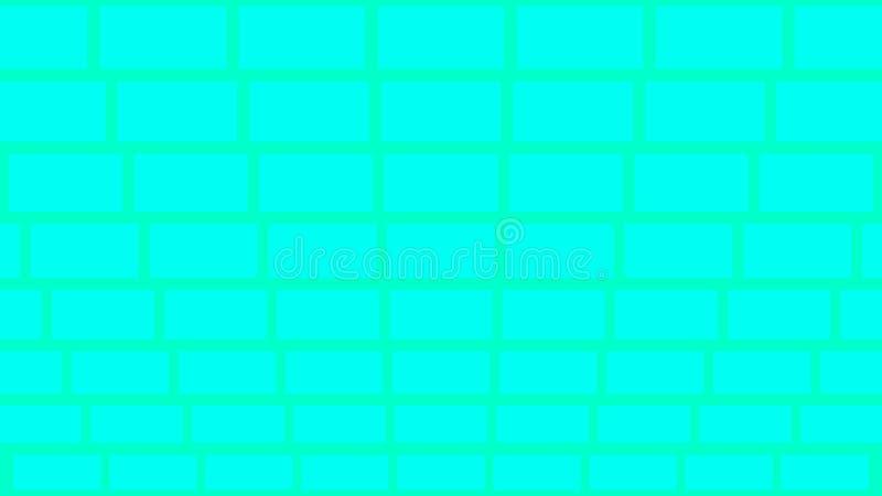 类似砖的几何背景 免版税库存照片