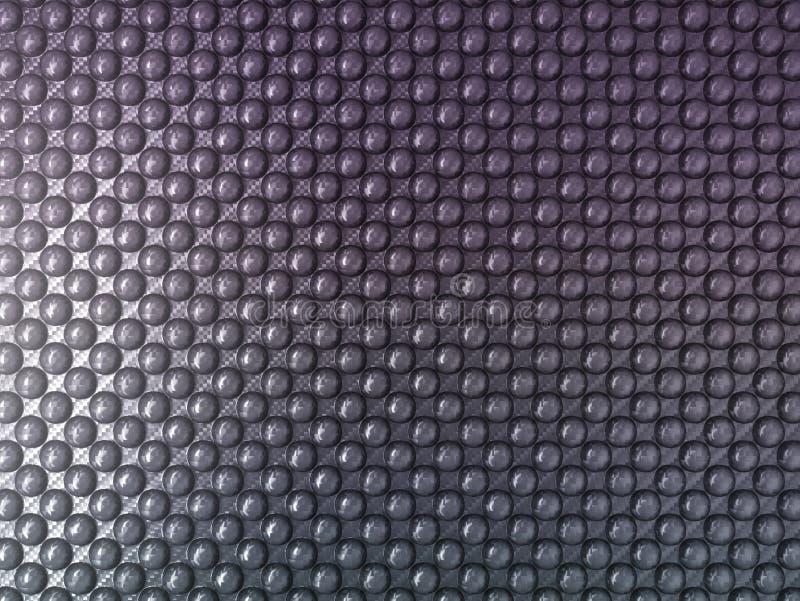 粉刺碳纤维:有用作为纹理 向量例证