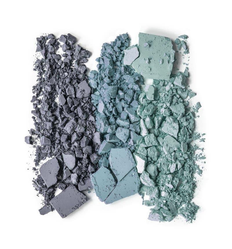粉末构成被击碎的三重奏 图库摄影