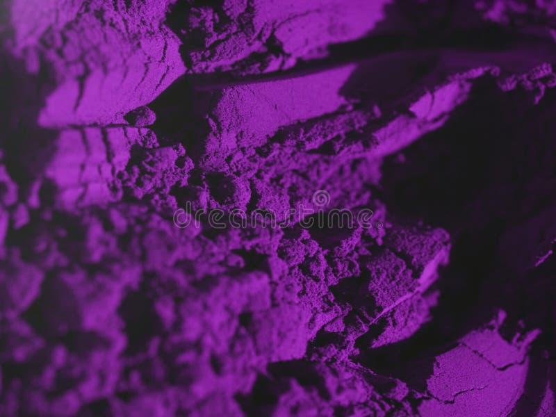 粉末紫色 图库摄影