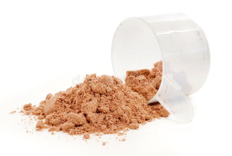 粉末蛋白质 免版税图库摄影
