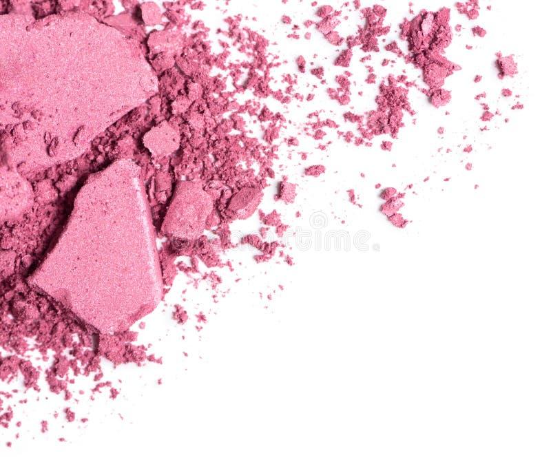 粉红色脸红 免版税图库摄影