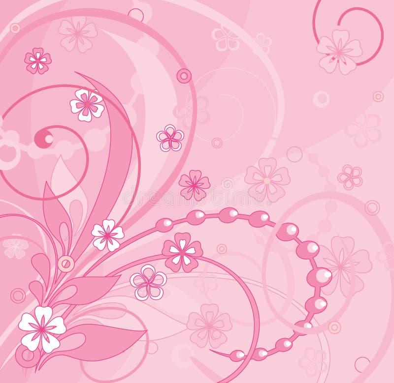 粉红色 向量例证