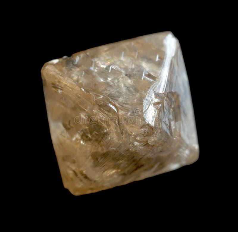 粗砺水晶的金刚石 库存图片