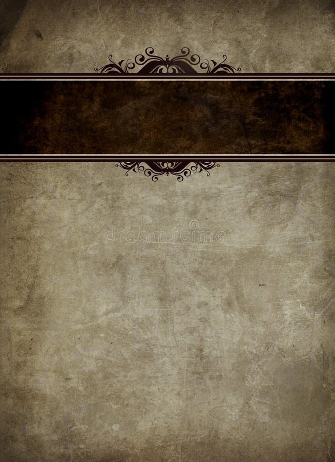 粗砺的书套 皇族释放例证