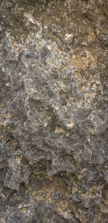 粗砺的花岗岩石岩石背景纹理 免版税图库摄影
