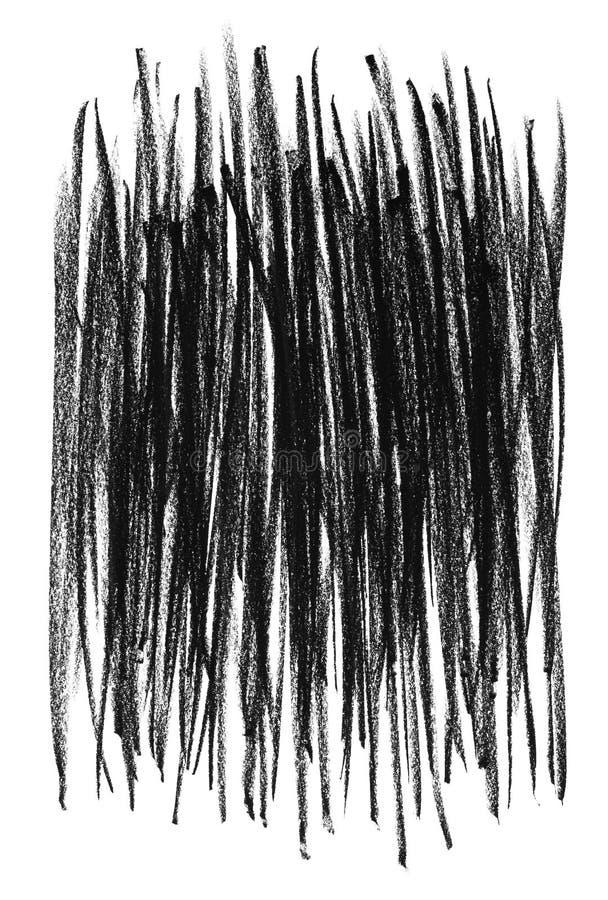 粗砺背景黑色的线路 向量例证