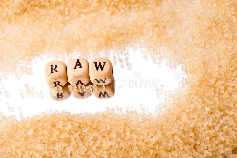 粗糖-木印刷体字母在镜子背景反射了 免版税图库摄影