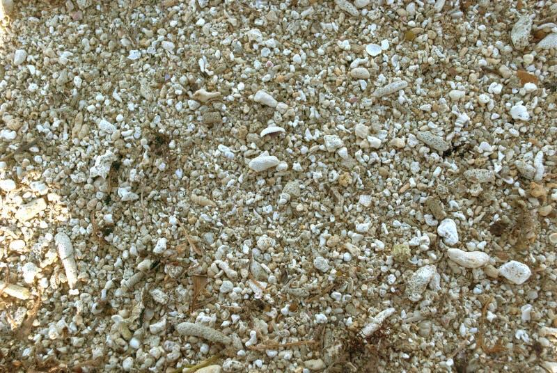 粗糙的沙子纹理 图库摄影
