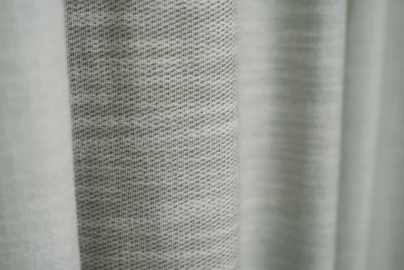 粗糙的白色织品 免版税库存图片