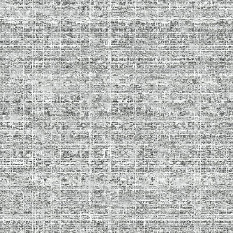 粗糙的织品无缝的纹理白色 向量例证
