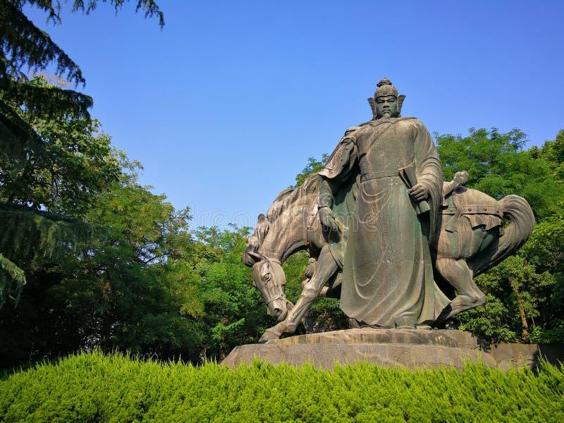 粤fei雕塑  免版税库存图片