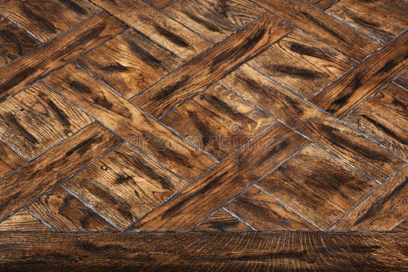 精华模件木条地板 与豪华纹理和样式的自然木地板 在被隔绝的白色背景的等轴测图 库存照片