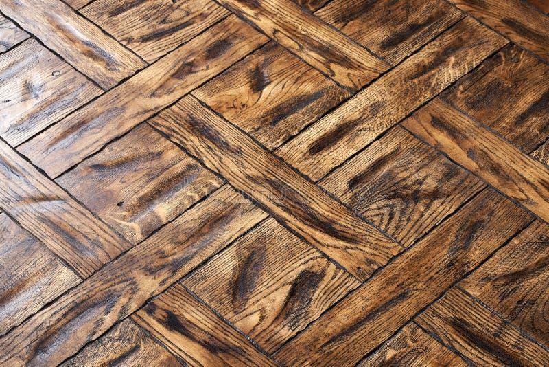 精华模件木条地板 与豪华纹理和样式的自然木地板 在被隔绝的白色背景的等轴测图 免版税图库摄影