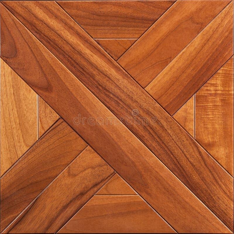 精华模件木条地板 与豪华纹理和样式的自然木地板 顶视图 免版税图库摄影