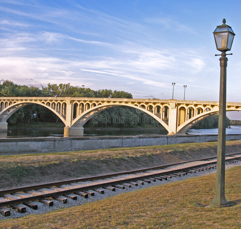 精密的桥梁 免版税库存照片
