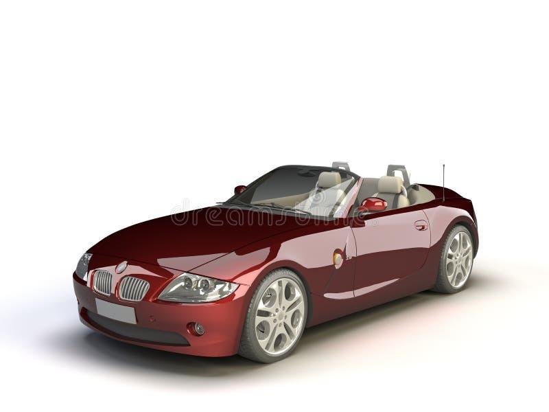 精密的汽车 向量例证