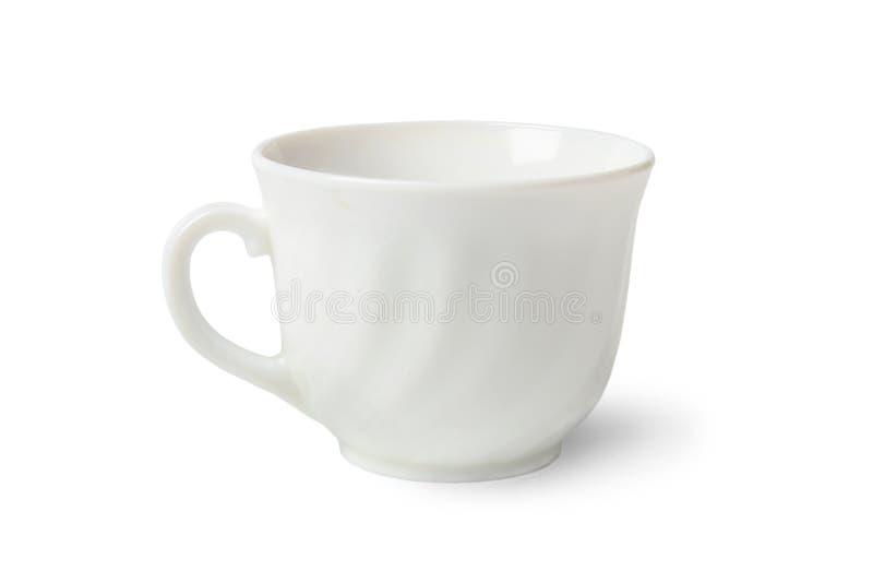 精巧彩色陶器茶杯 图库摄影